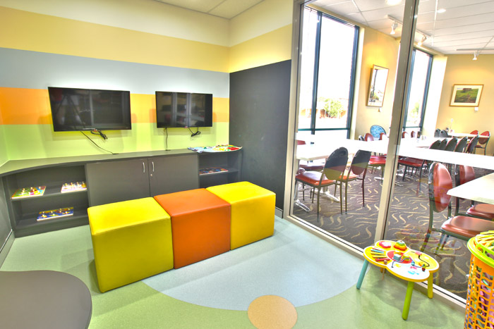 Kids Play Room - Gallery Bistro Restaurant