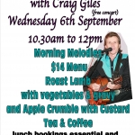 Morning Melodies with Craig Giles