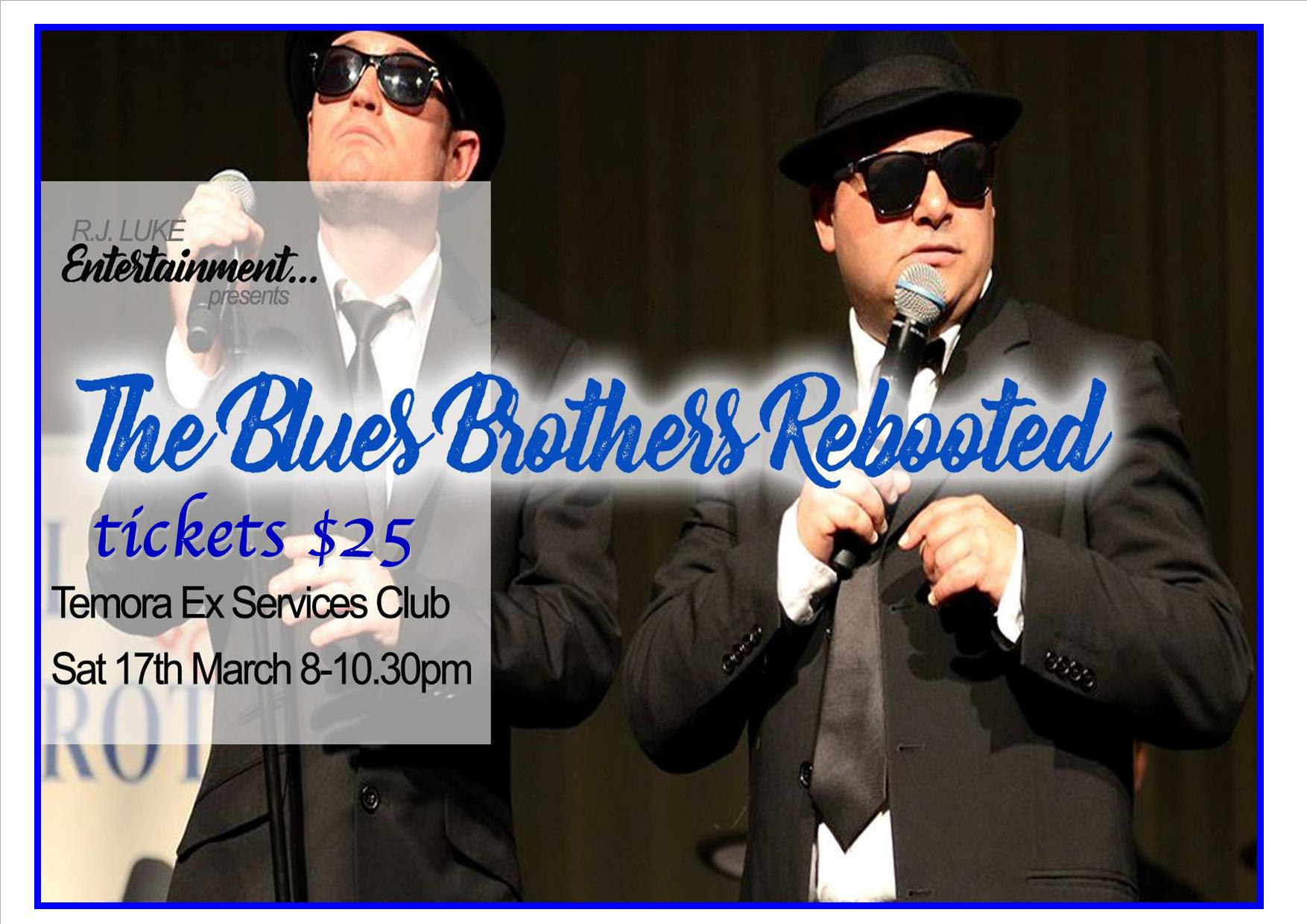 The Blues Brothers Rebooted