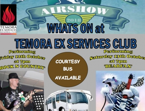 Warbirds Downunder – Whats on at the Ex Services Club